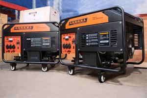 Новые модели мощных бензиновых генераторов торговой марки Aurora