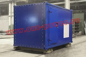 Поставка дизельного генератора в контейнерном исполнении для образовательного учреждения