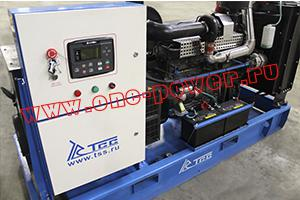 Поставка дизельного генератора TSS TTD 140TS в город Новосибирск