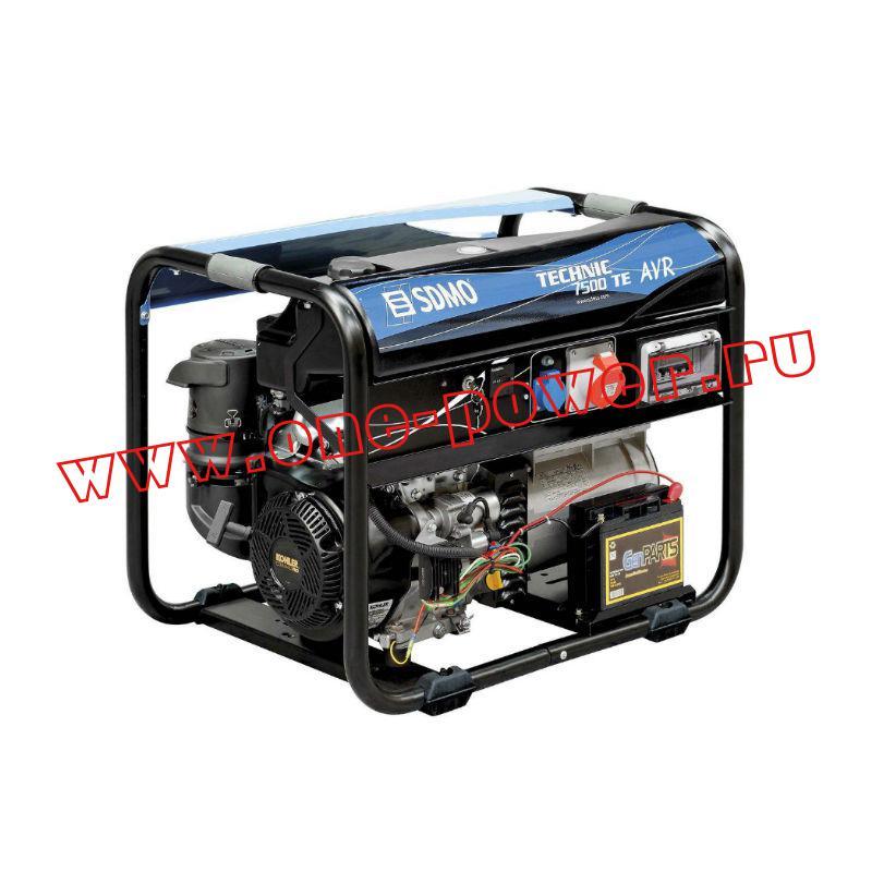 Бензиновый генератор SDMO Tecnic 7500 TE AVR M