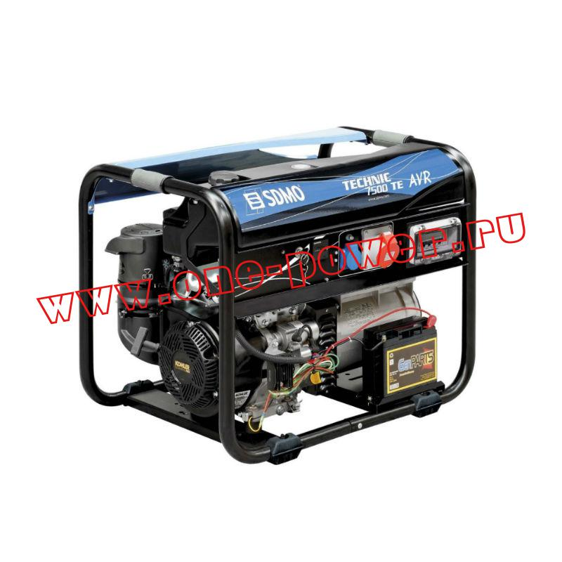 Бензиновый генератор SDMO Tecnic 7500 TE AVR