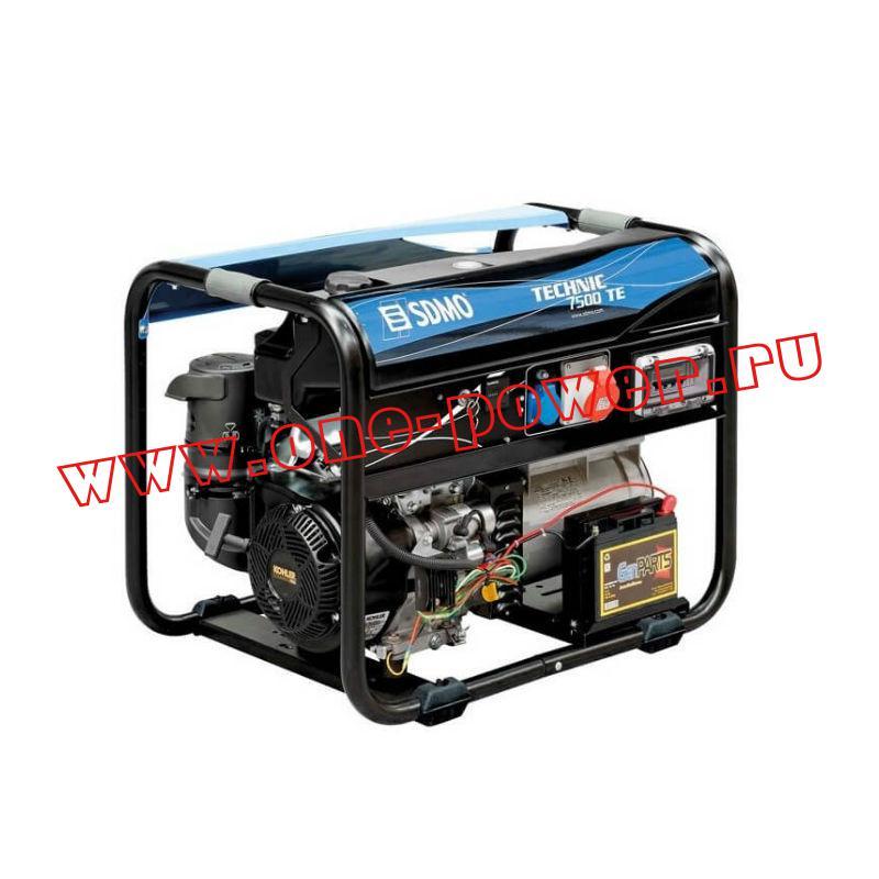 Бензиновый генератор SDMO Tecnic 7500 TE