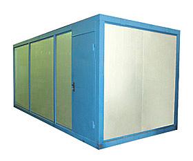 Модернизация блок-контейнеров для электростанций