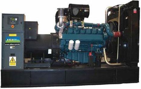 Дизельный генератор Aksa AD-550DD