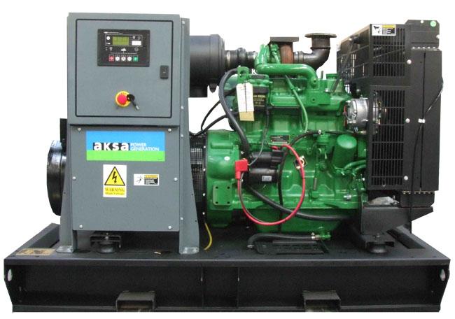 Дизельный генератор Aksa AJD-90