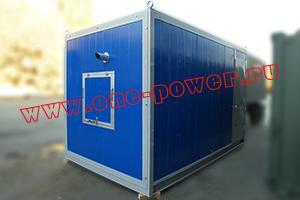 Фото утепленного блок-контейнера для ДГУ типа север
