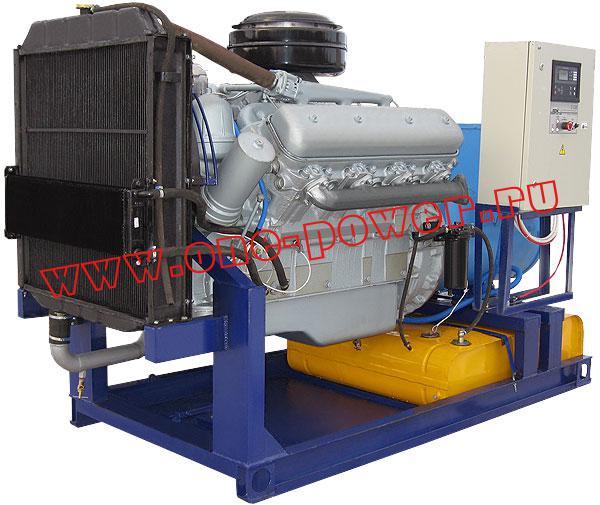 Дизельный генератор 100 кВт артикул АД-100-т400-2р с двигателем ЯМЗ