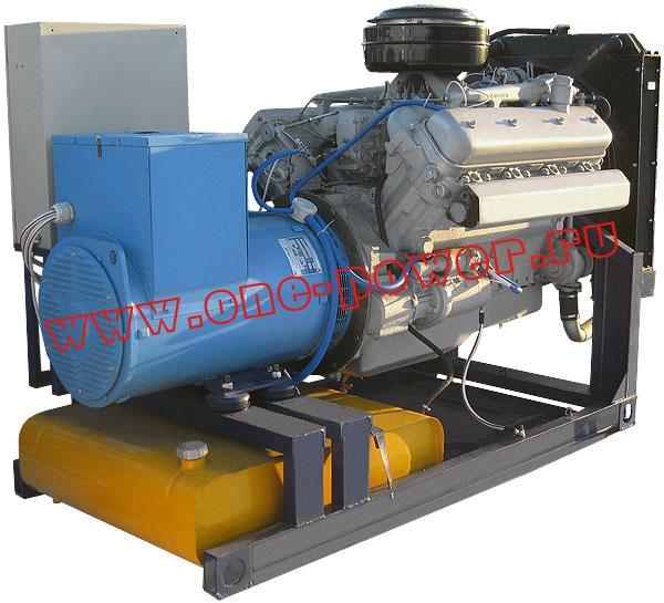 Дизельный генератор 100 кВт с двигателем ЯМЗ стационарное исполнение