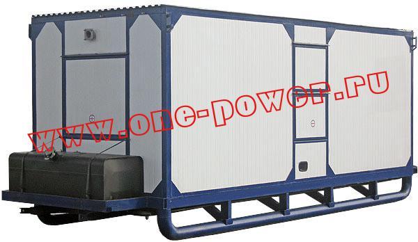Дизельный генератор 100 кВт с двигателем ЯМЗ исполнение в контейнере типа