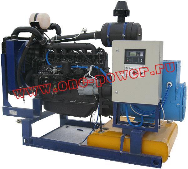 Дизельная электростанция ЭД-100, стационарное исполнение