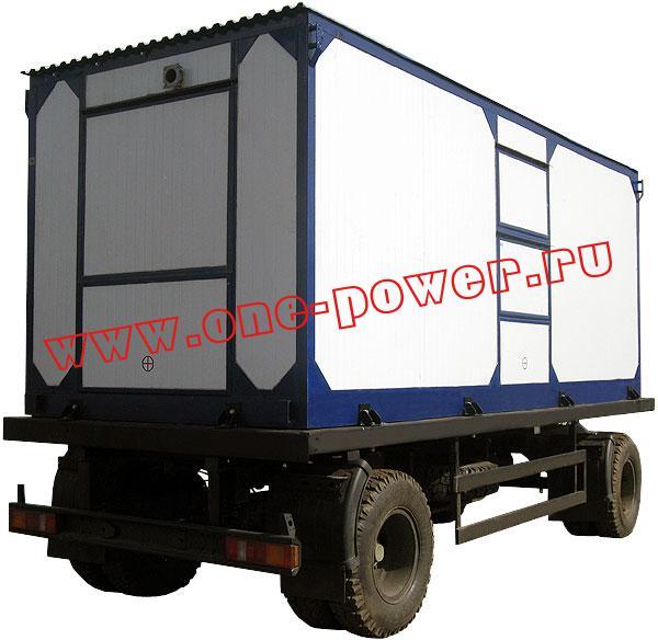 Дизельная электростанция ЭД-100, исполнение в контейнере на шасси