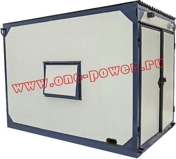 Дизельная электростанция АД-12, исполнение в контейнере типа