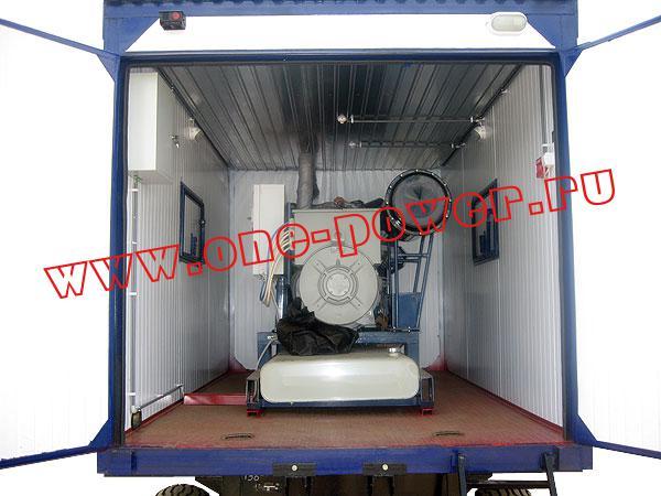 Дизельная электростанция ЭД-200, исполнение в контейнере