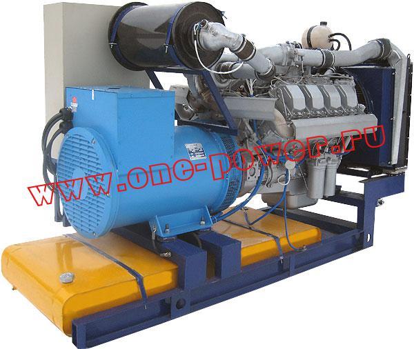 Дизельная электростанция ЭД-200, стационарное исполнение