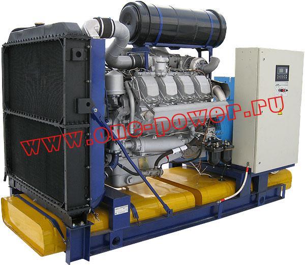 Дизельная электростанция АД-300, стационарное исполнение