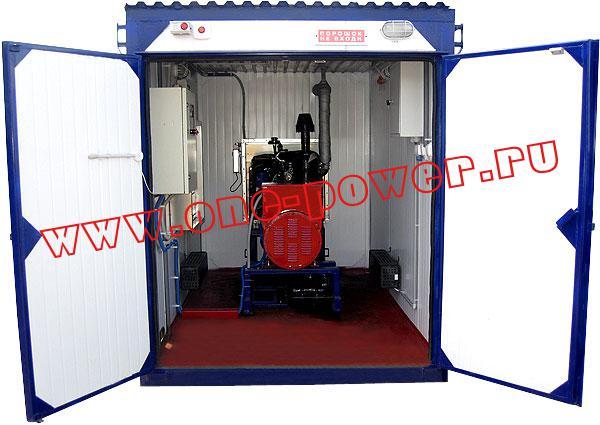 Дизельная электростанция АД-30, исполнение в контейнере типа