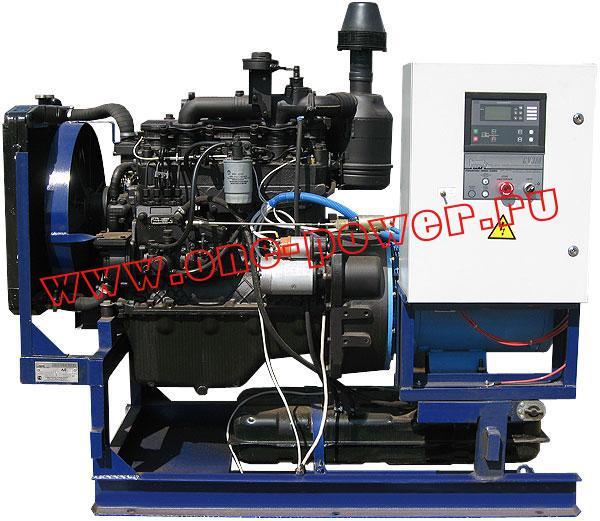 Дизельная электростанция АД-40 в стационарном исполнении (рис. 2)