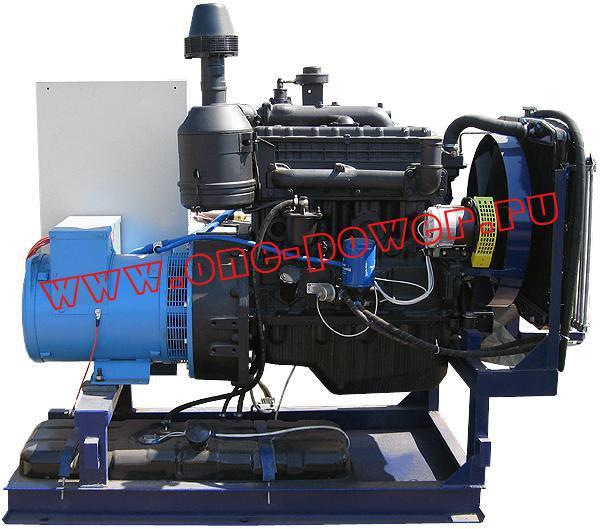 Дизельная электростанция АД-40 в стационарном исполнении (рис. 4)