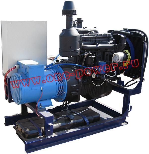 Дизельная электростанция АД-40 в стационарном исполнении (рис. 6)