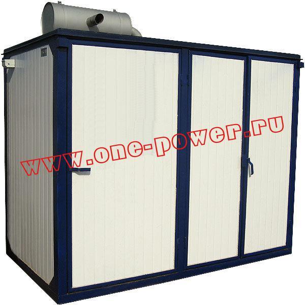 Дизельная электростанция АД-60 YAMZ, исполнение в контейнере и в контейнере типа