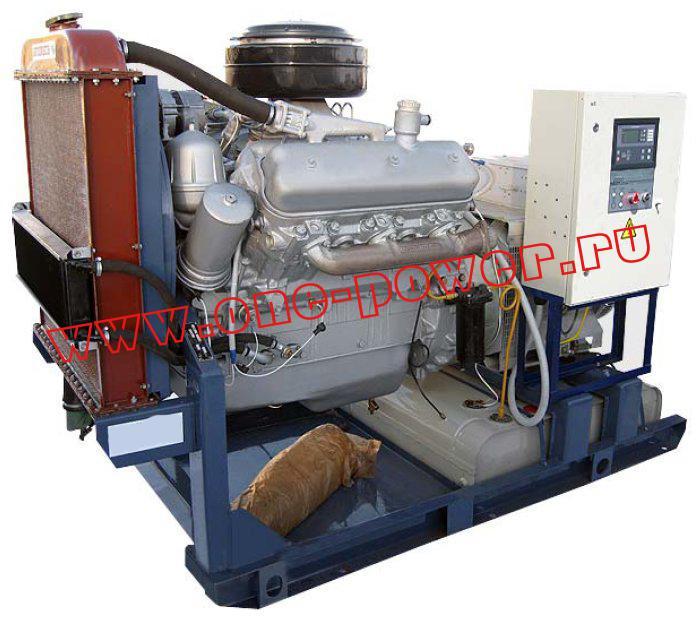 Дизельная электростанция АД-75 с двигателем YaMZ (75 кВт)