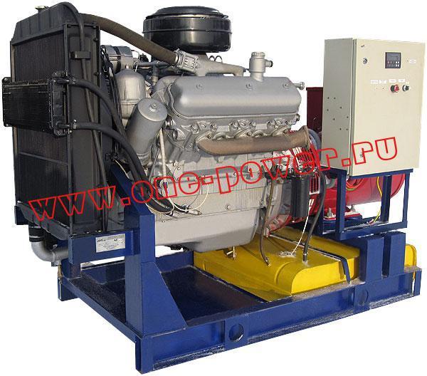 Дизельная электростанция АД-75 YAMZ, стационарное исполнение