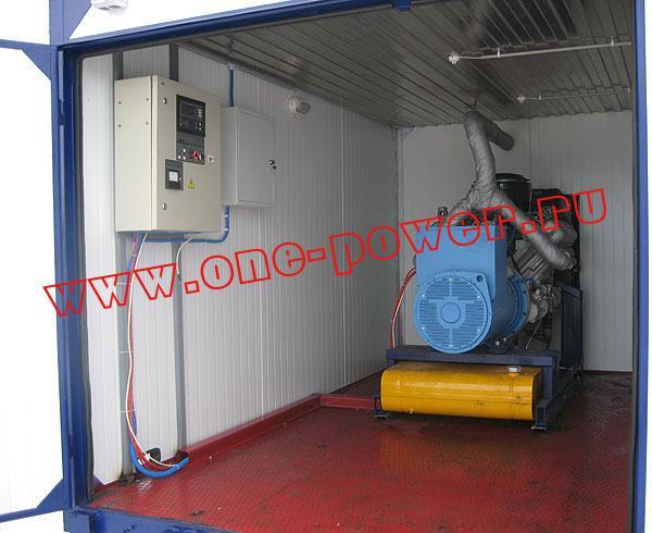 Дизельная электростанция АД-75 YAMZ, исполнение в контейнере