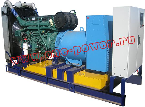 Дизельная электростанция ADV-400, стационарное исполнение
