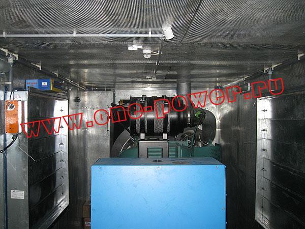 Дизельная электростанция ADV-500, исполнение в контейнере