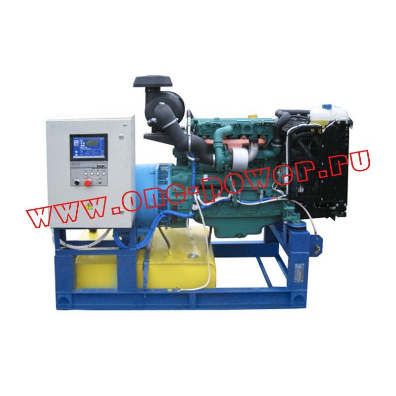Дизельная электростанция ADV-60 (60 кВт)