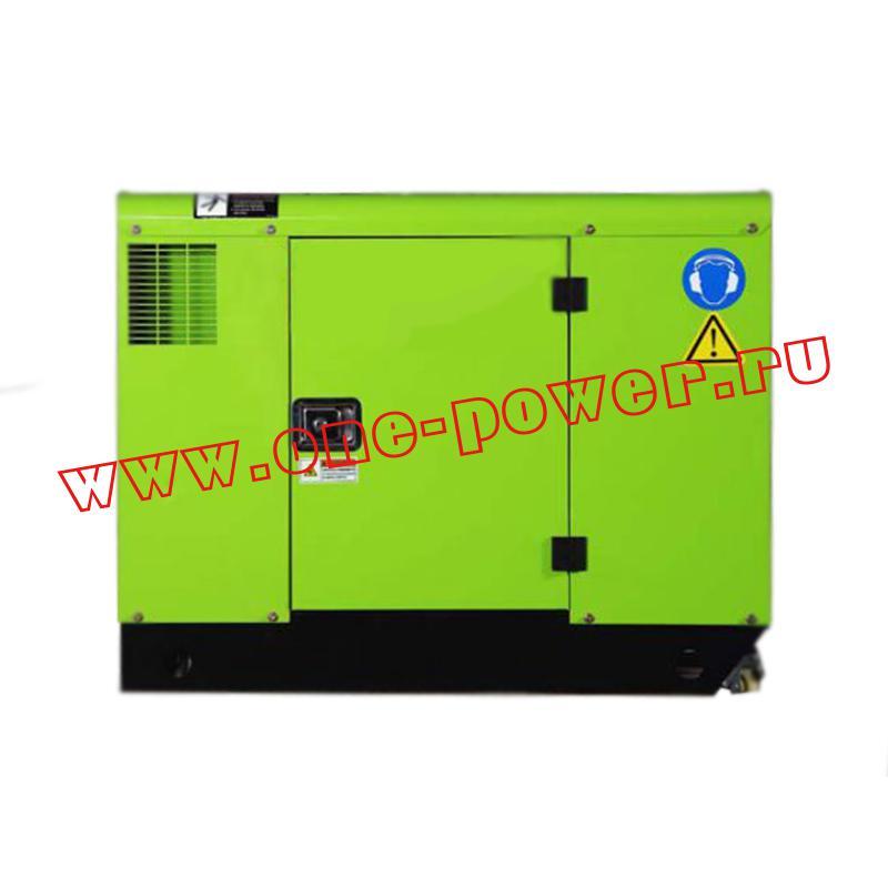 Дизельный генератор АД 10 RICARDO 10 кВт еврокожух