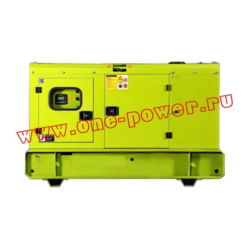 Дизельный генератор АД 15 RICARDO 15 кВт еврокожух