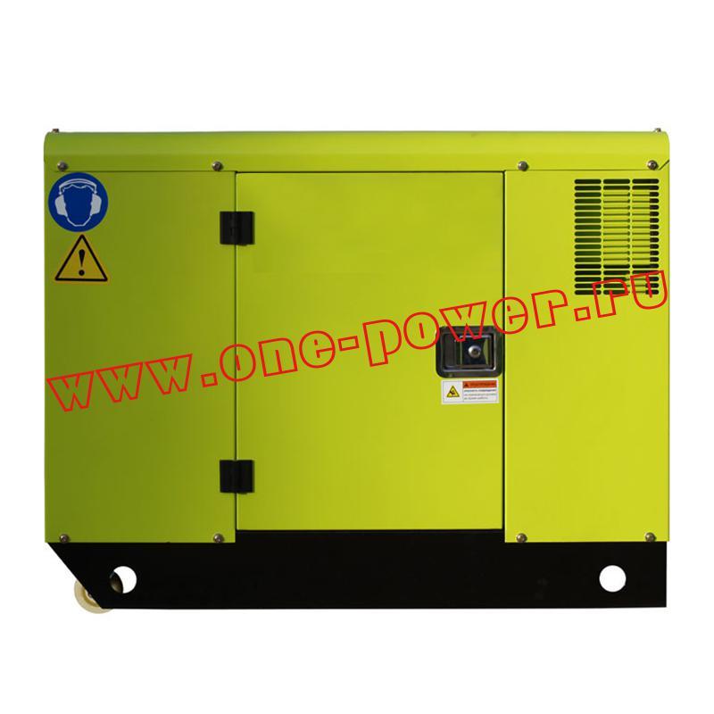 Дизельный генератор RICARDO 10 кВт кожух с воздушным охлаждением