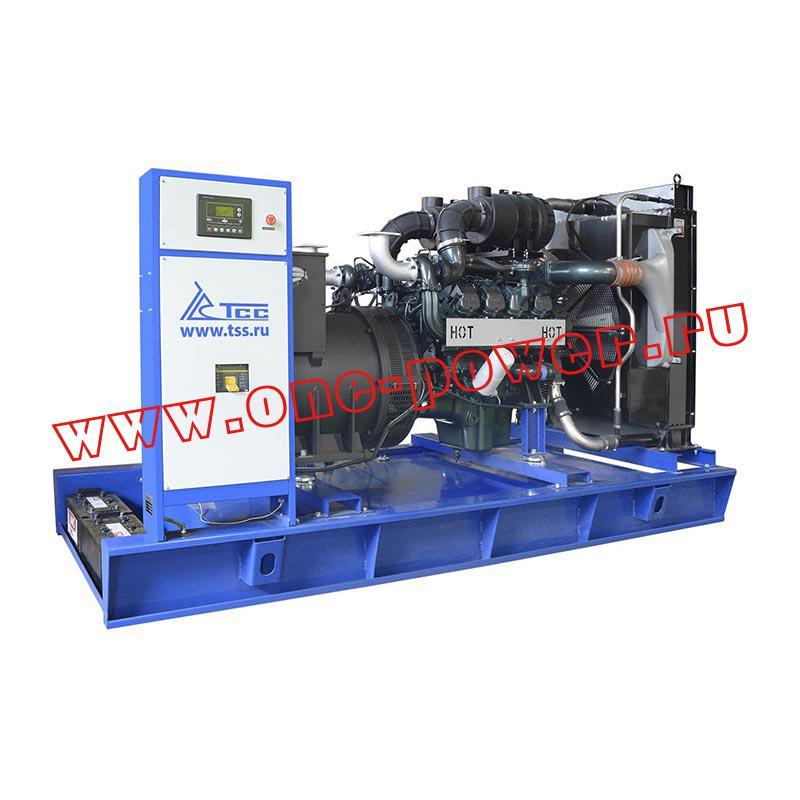 Дизельный генератор TSS TDO 500MC серии Prof