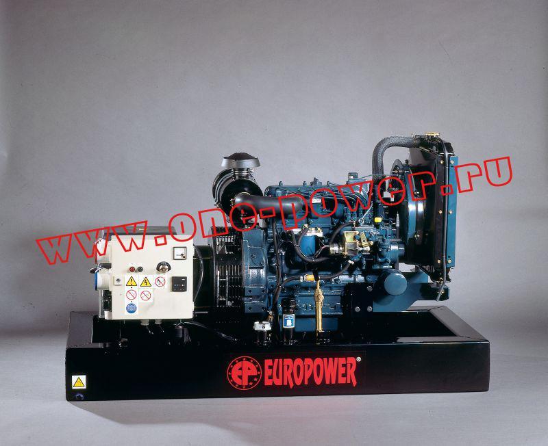 Бензиновый генератор Europower EP 100 TDE