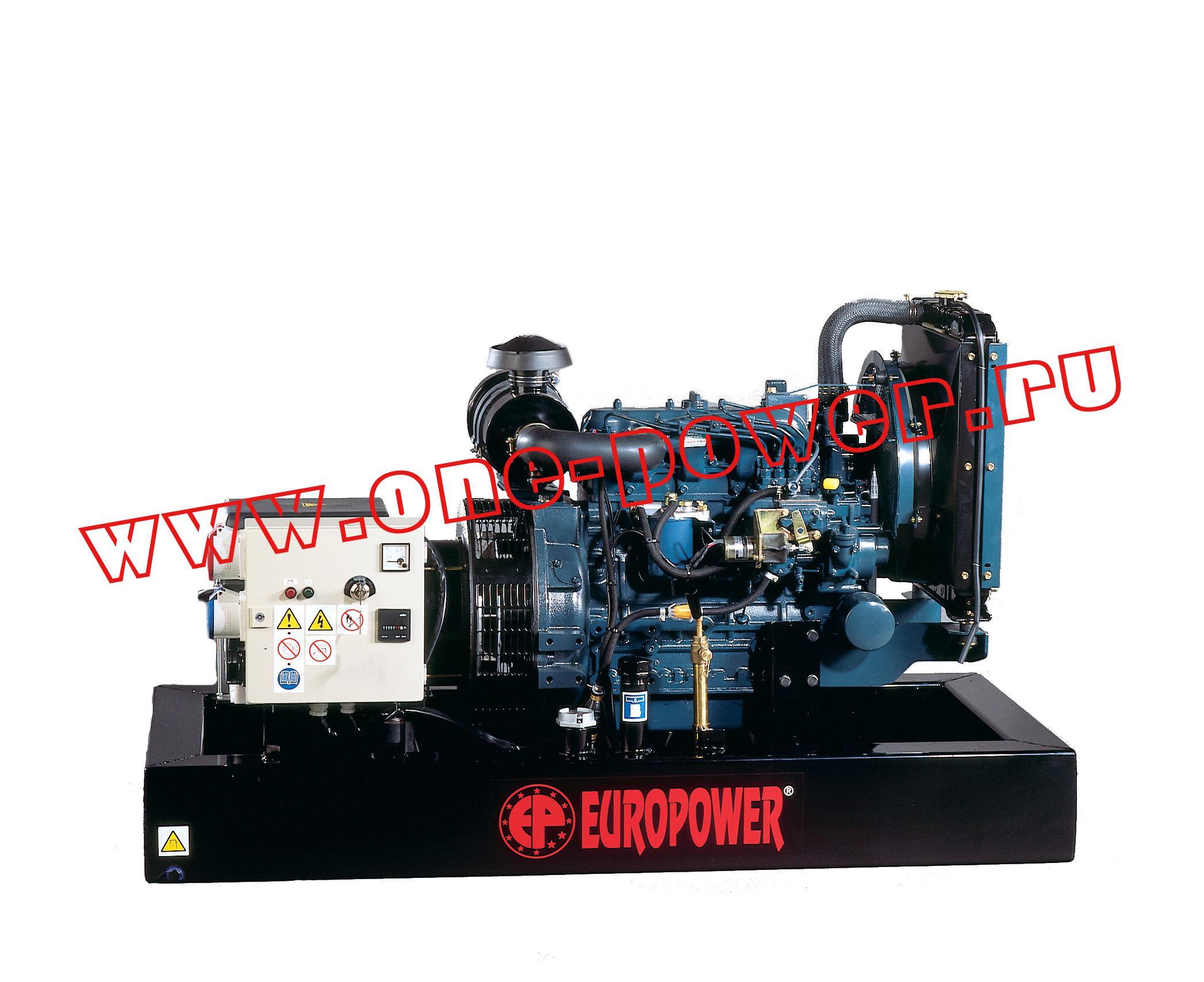 Бензиновый генератор  Europower EP 85 TDE