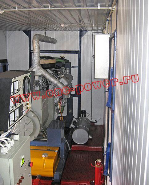 Дизельная электростанция АД-100 ЯМЗ (100 кВт), фото 2