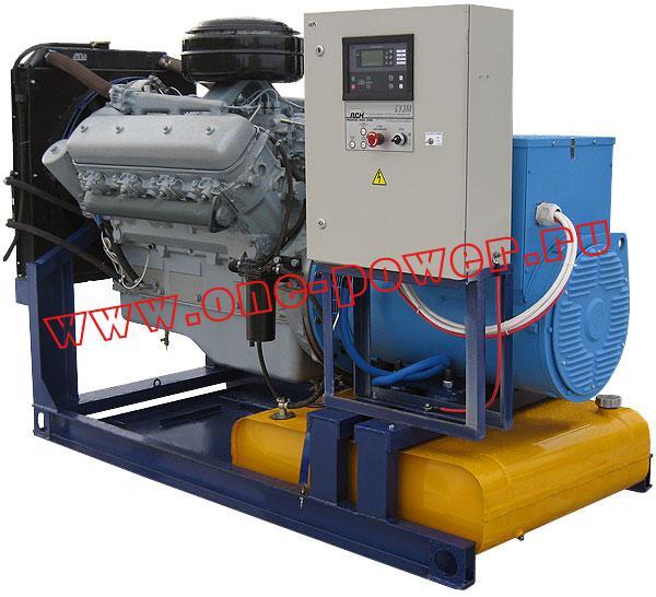 Дизельная электростанция АД-100 ЯМЗ (100 кВт), фото 4