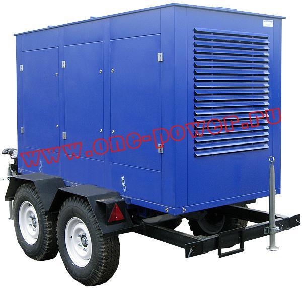 Дизельная электростанция АД-100 ЯМЗ (100 кВт), фото 6
