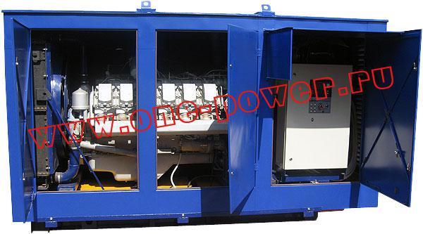 Дизельная электростанция АД-315 ЯМЗ (315 кВт), фото 3
