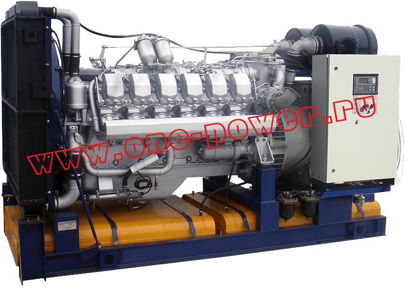 Дизельная электростанция АД-315 ЯМЗ (315 кВт), фото 6
