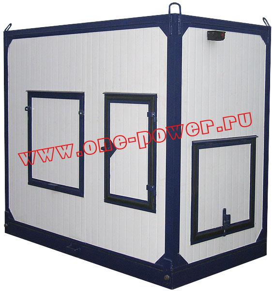 Дизельная электростанция АД-60 ММЗ в контейнере купить для дачи или дома по низкой цене
