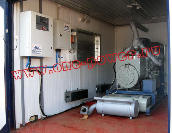 Дизельная электростанция АД-60 ЯМЗ (60 кВт), фото 3