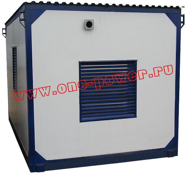 Дизельная электростанция АД-75 в контейнере которую Вы можете  купить на нашем сайте one-power по цене производителя в Ростове.