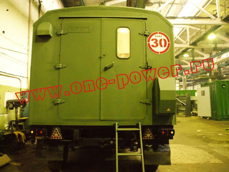 дизельная электростанция ЭД200-Т400-1РК в кунге