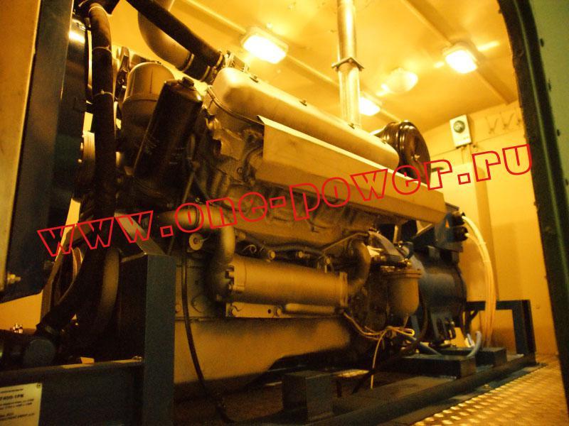 Дизельный агрегат мощностью 200 кВт в кузов-фургоне
