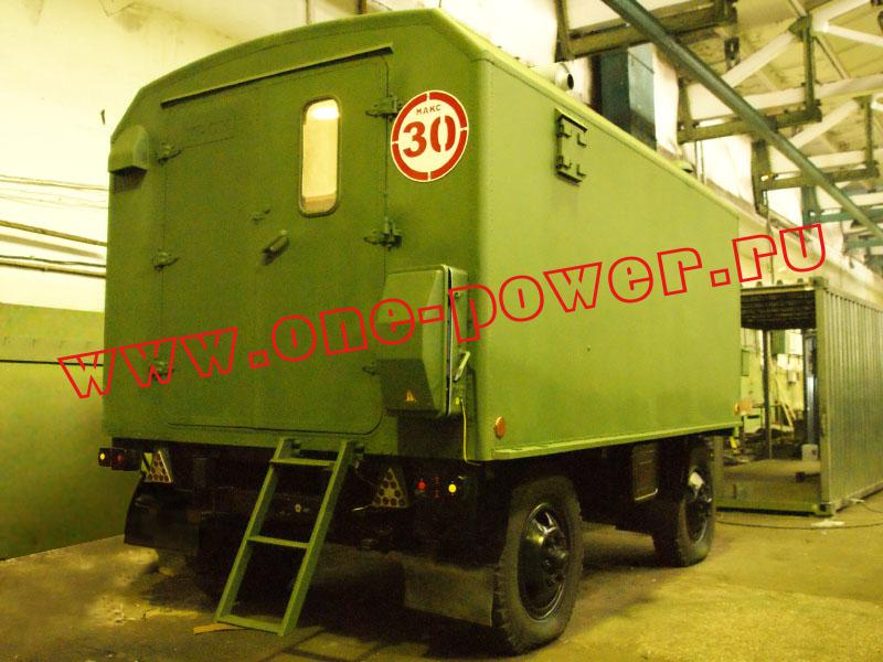 дизельная электростанция ЭД200-Т400-1РК в утеплённом кузов-фургоне