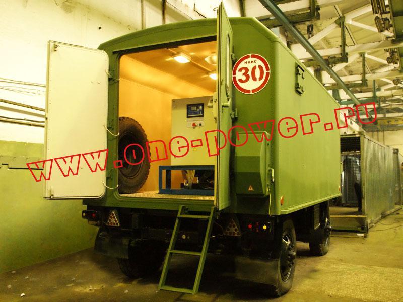 Дизельная электростанция ЭД200-Т400-1РК в утеплённом кузове-контейнере
