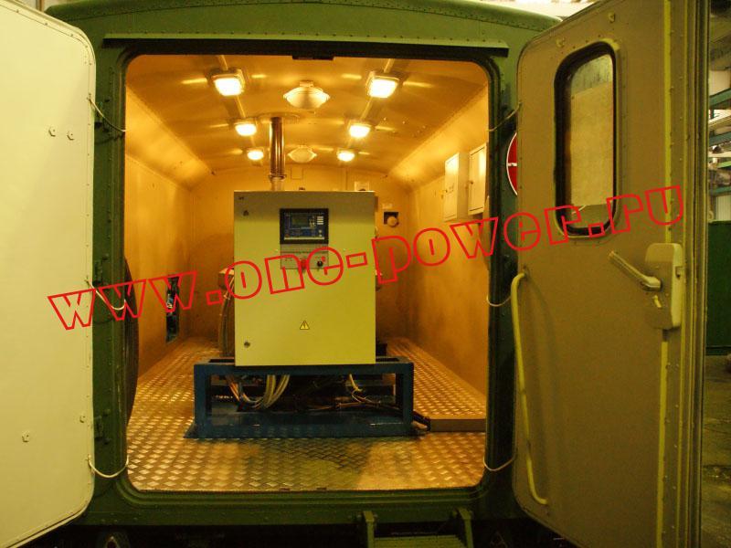 дизельная электростанция ЭД200-Т400-1РК в кузов-контейнере
