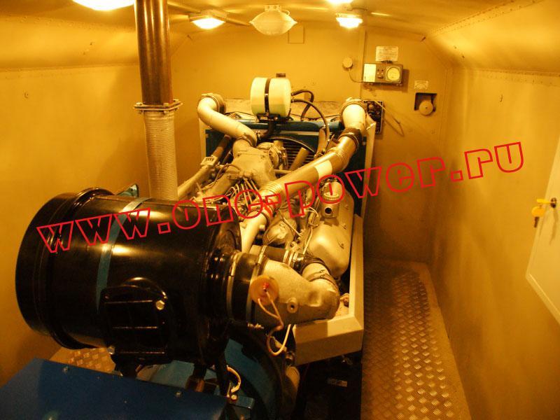 Дизельный генератор ЭД200-Т400-1РК внутри кузов-фургона